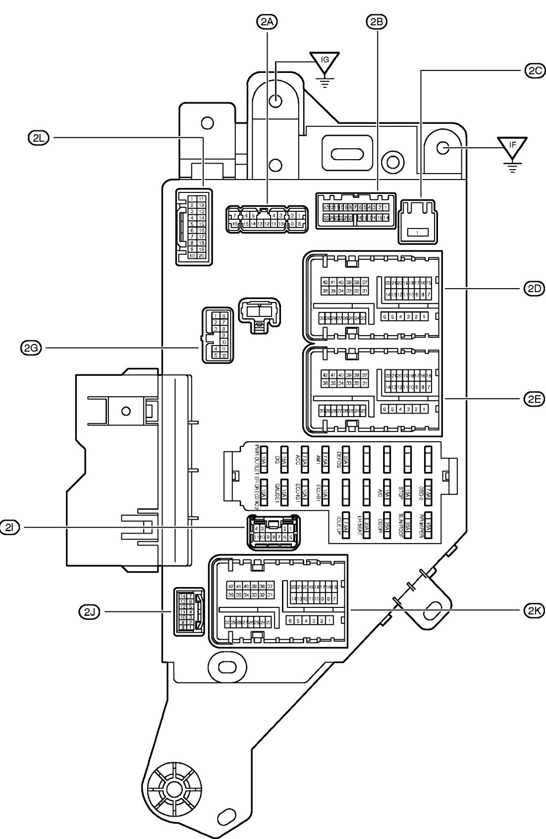 Mitsubishi Eclipse Gs Fuse Box Diagram