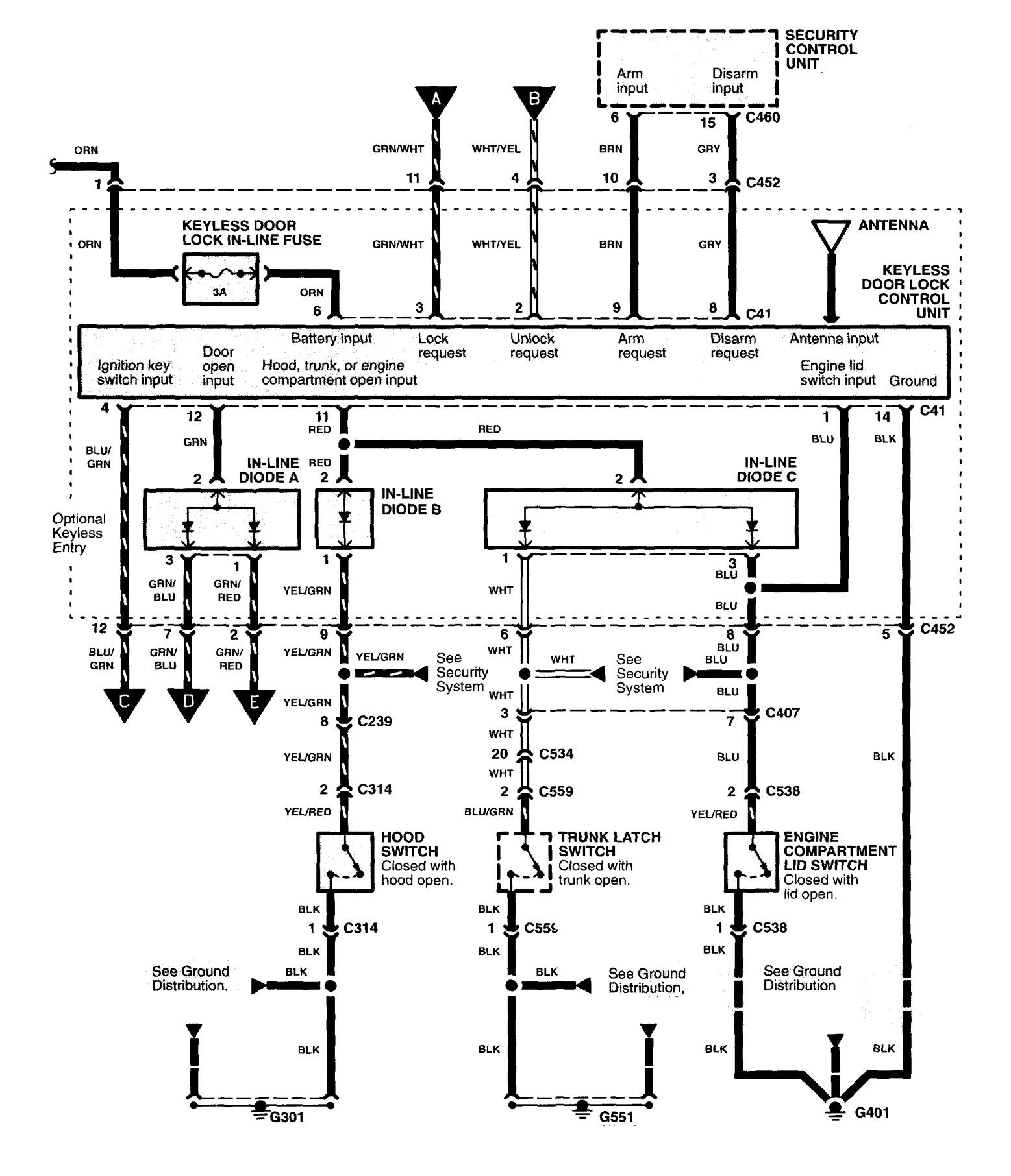 Cadillac Catera Wiring Diagram
