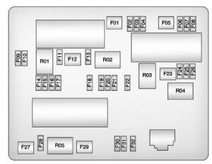 Buick Verano (2012 – 2013) – fuse box diagram  CARKNOWLEDGE