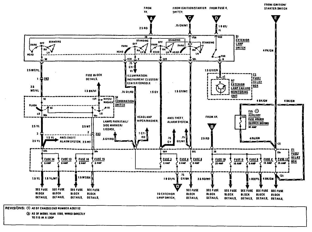 Mercedes 300 Wiring Diagram