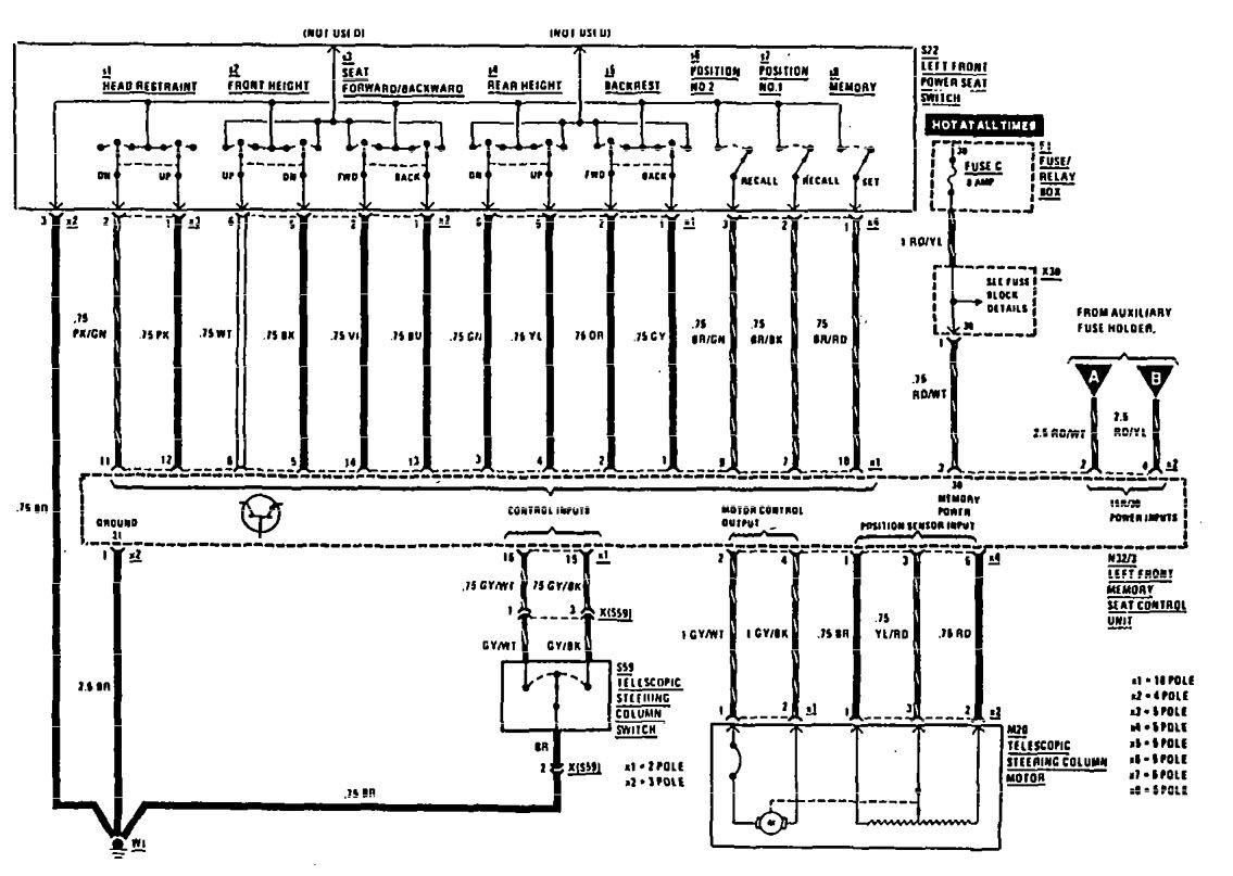 Mercedes Cl65 Fuse Diagram