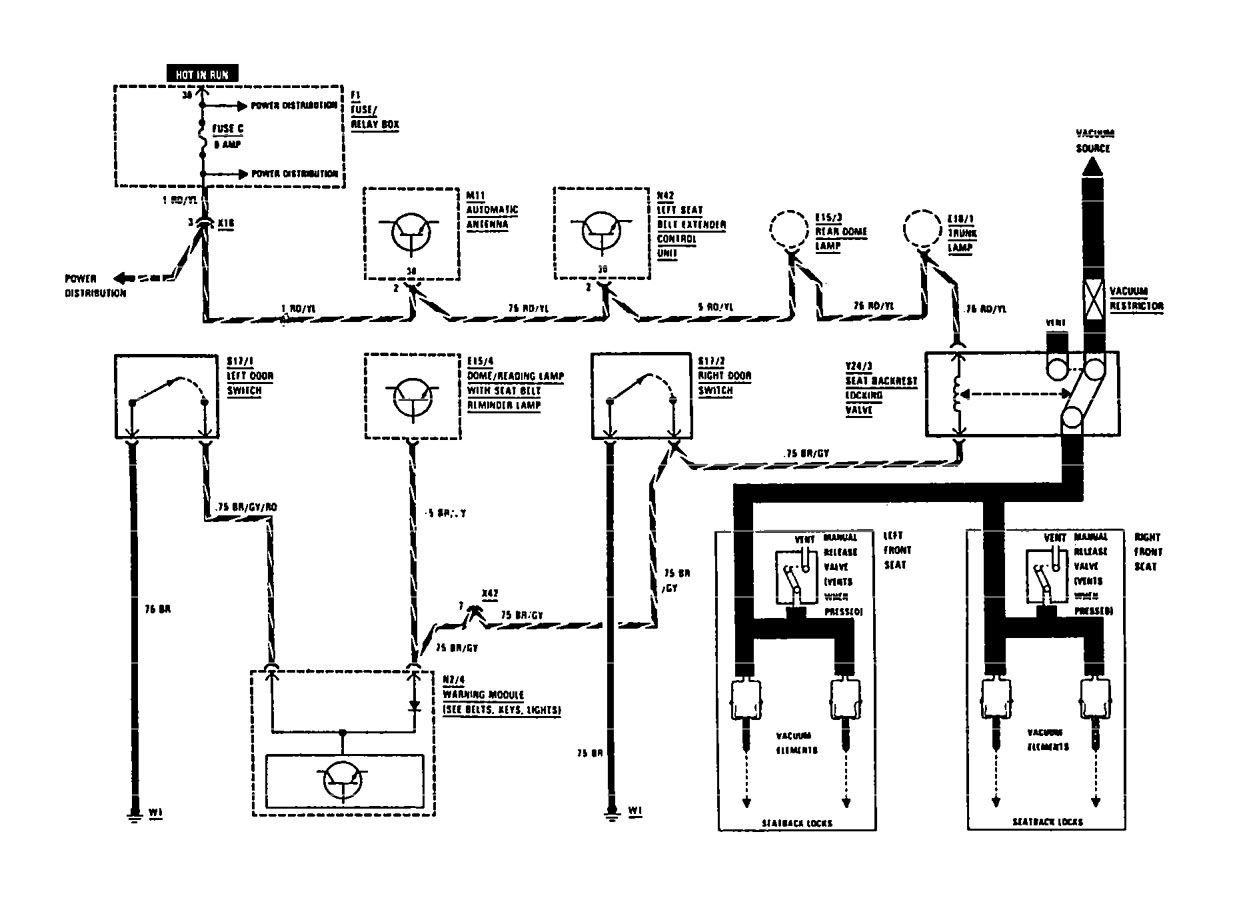 Mercedes Power Seat Wiring Diagram Collection