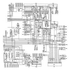 MercedesBenz 300E (1992  1993)  wiring diagrams  HVAC Controls  CARKNOWLEDGE