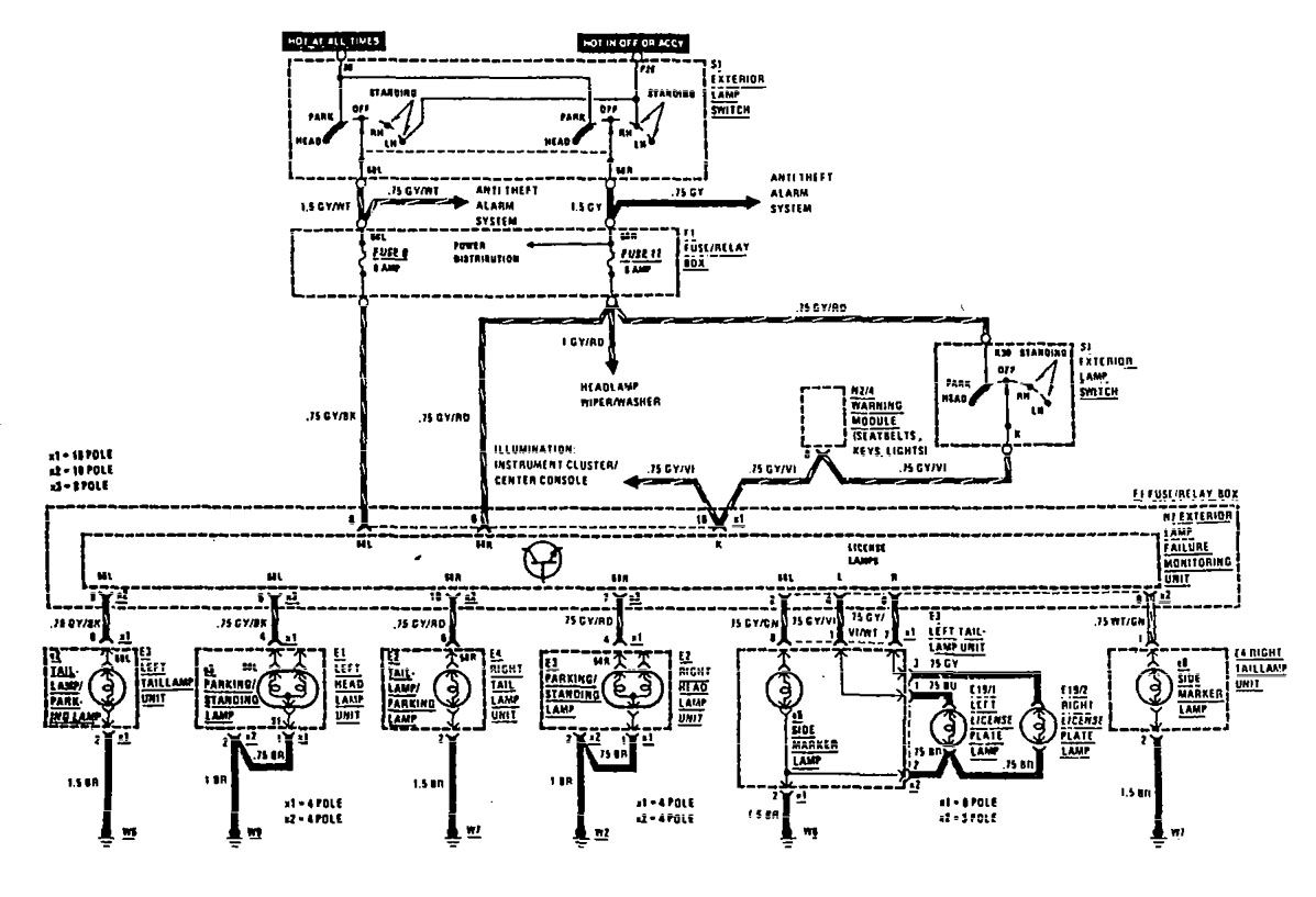 Diagram Mercedes Benz W168 Wiring Diagram Full Version