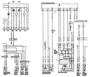 MercedesBenz 500SL (1990  1993)  wiring diagrams