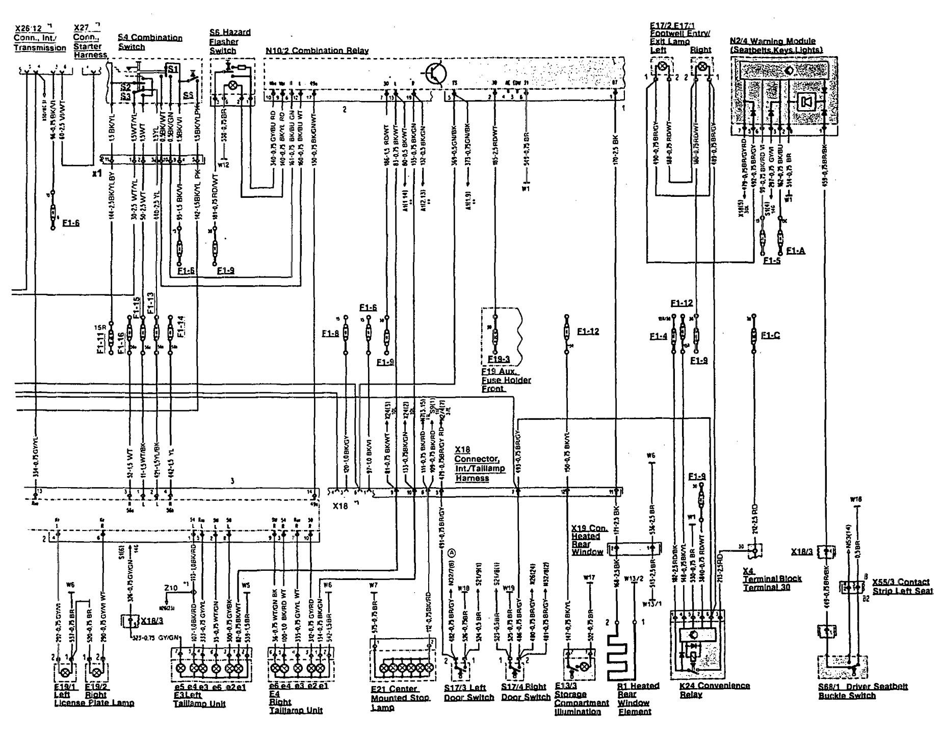 Mercedes Benz Fuse Diagram