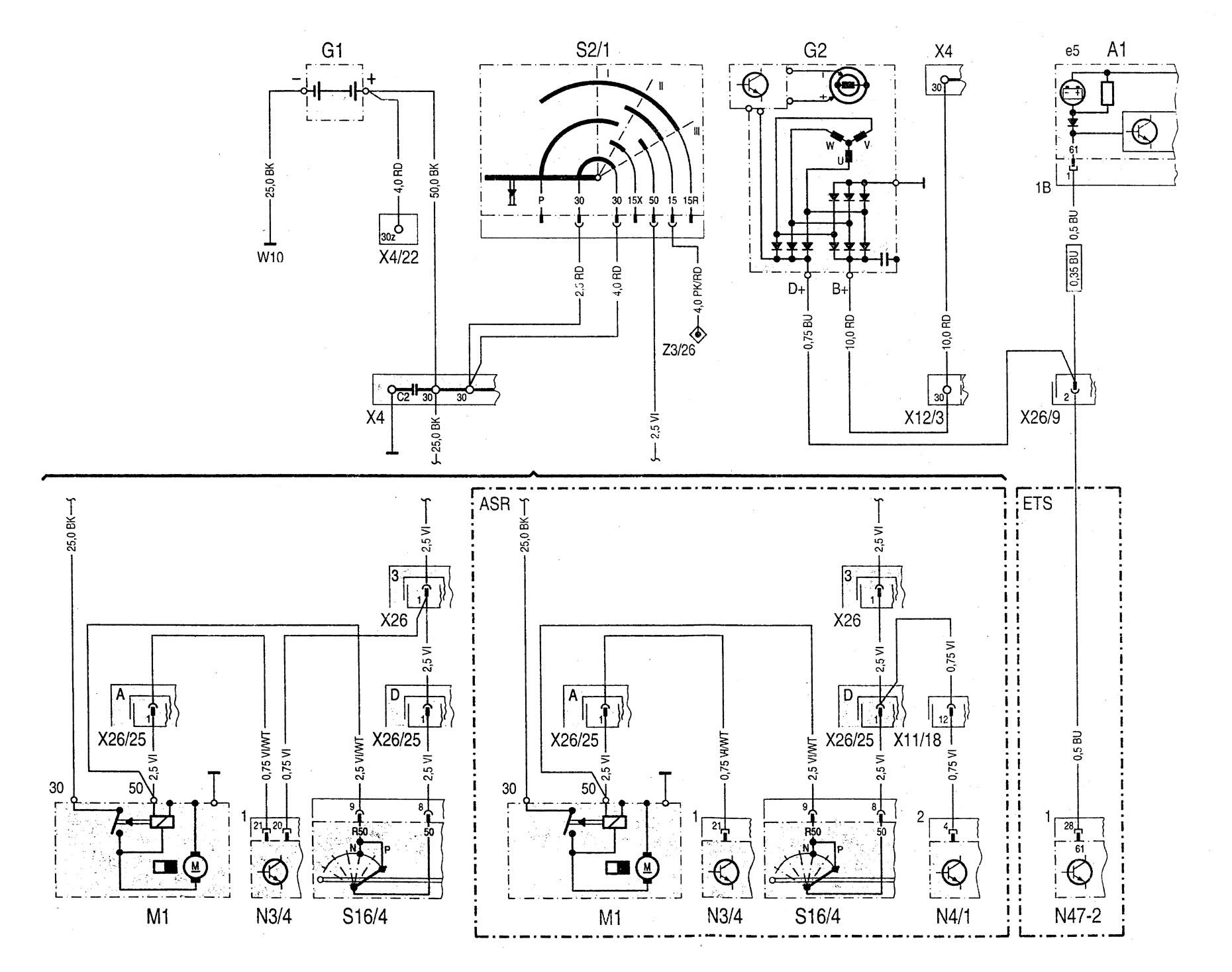 Mercede Fuse Box Diagram C230