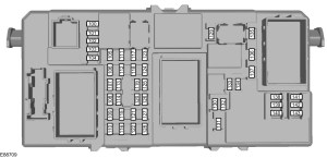 Ford CMAX (2003 – 2010) – fuse box diagram (EU version