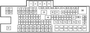 Ford F450 (2011 – 2016) – fuse box diagram  CARKNOWLEDGE
