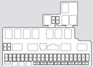 Honda Fit (2008) – fuse box diagram  CARKNOWLEDGE