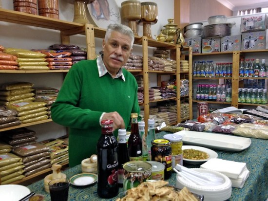 Russoul Sajadi, of Bahar Persian Food & Art.