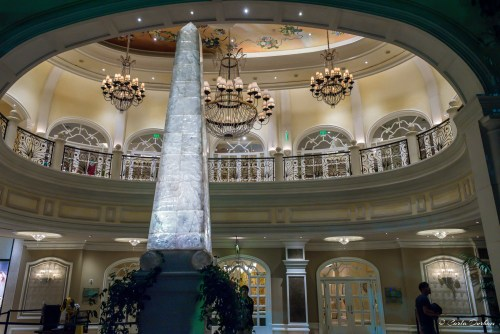 Lobby of Bellagio Hotel and Casino in Las Vegas, Nevada - Photographer Carla Durham- 50 Cities and counting