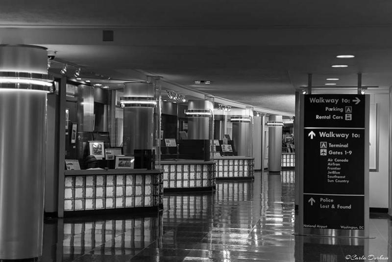 Ronald Reagan National Airport, Terminal A in Washington, DC - Carla Durham - Carla in the City