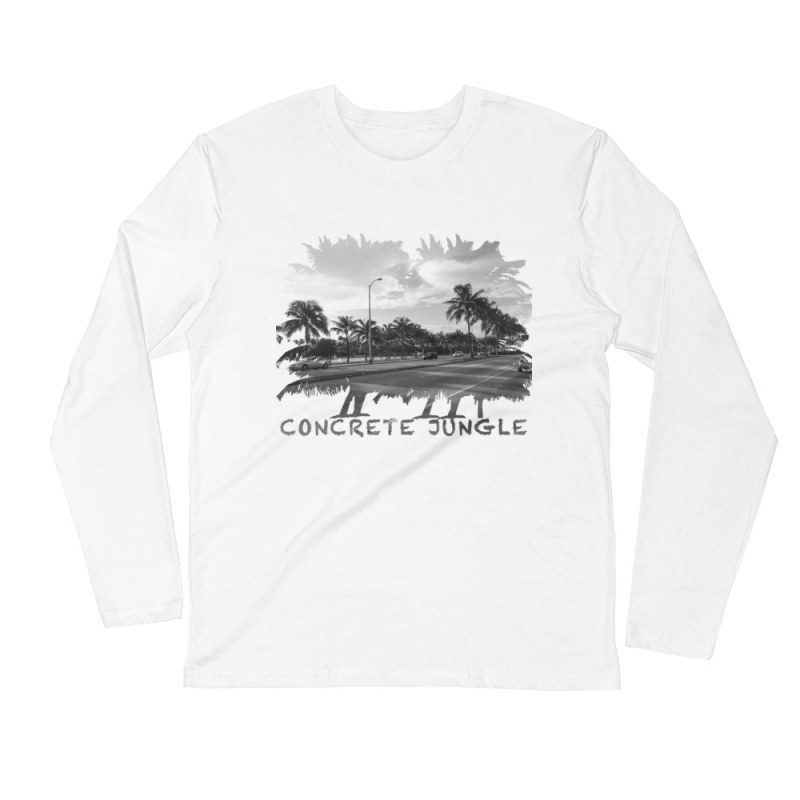 Concrete Jungle - Miami Beach, Florida - Carla Durham, travel photographer - Carla in the City - Carla Durham - long sleeve t-shirt, white
