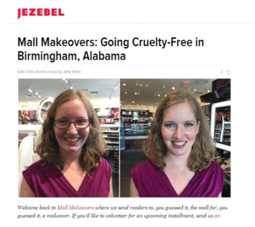 Mall Makeovers