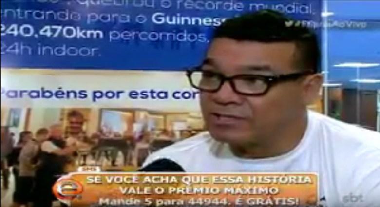 Carlão Oliveira no programa da Eliana no SBT