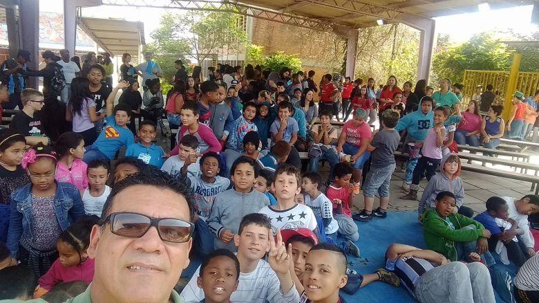 Palestra EMEF Mário Quintana na Restinga