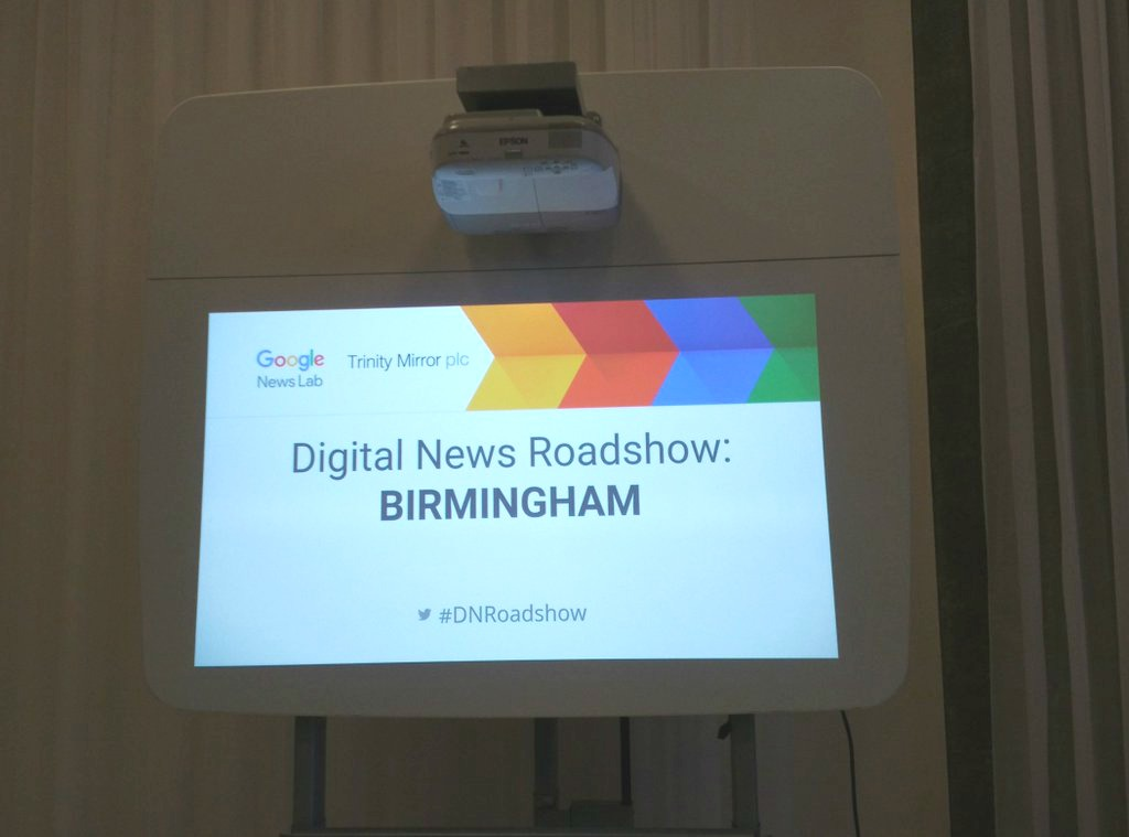 Google Digital News Roadshow