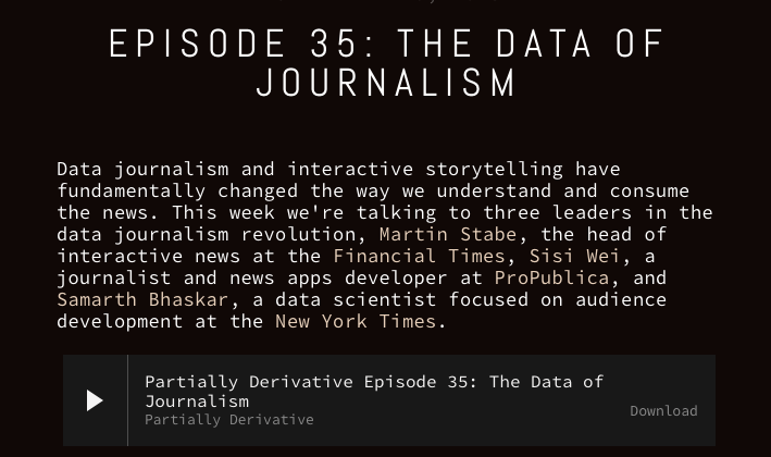 Episode 35: The data of journalism