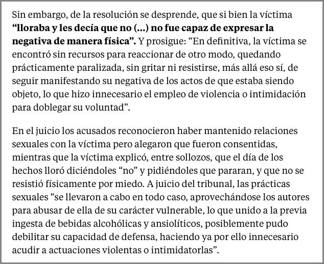 """Fragment d'un article de """"La Vanguardia"""" sobre una sentència de l'Audiència de Lleida"""