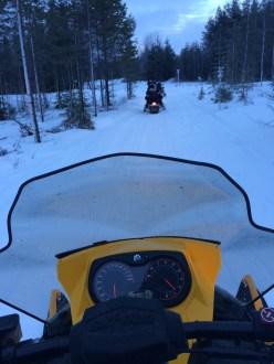 20151226 LAPLAND Snowmobile7
