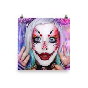 Print: Carla X - Cotton Candy Clown Dreams