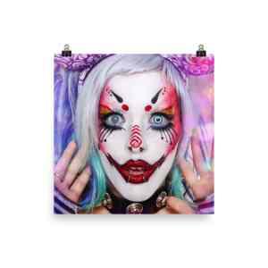 Print: Carla X - Cotton Candy Clown Dreams
