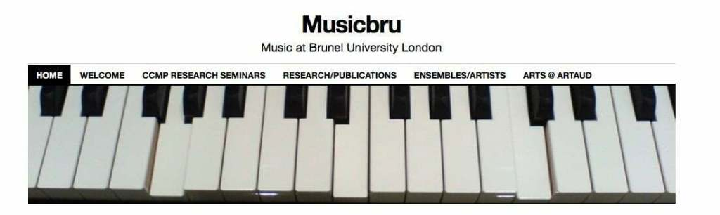 MusicBru Brunel University London Music Blog