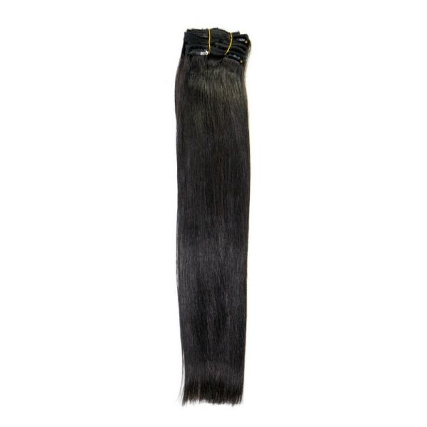 Natural Black 1b Clip In Extensions