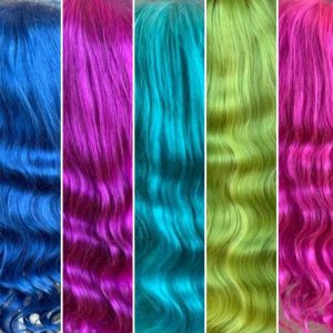 Body Wave Rainbow Wig Collection