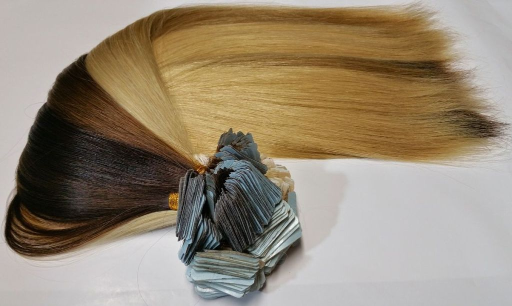 Tape-in Human Hair Extensions remy