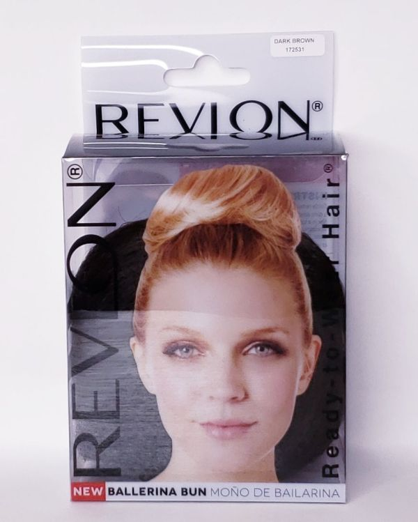Revlon Ballerina Bun (Dark Brown)