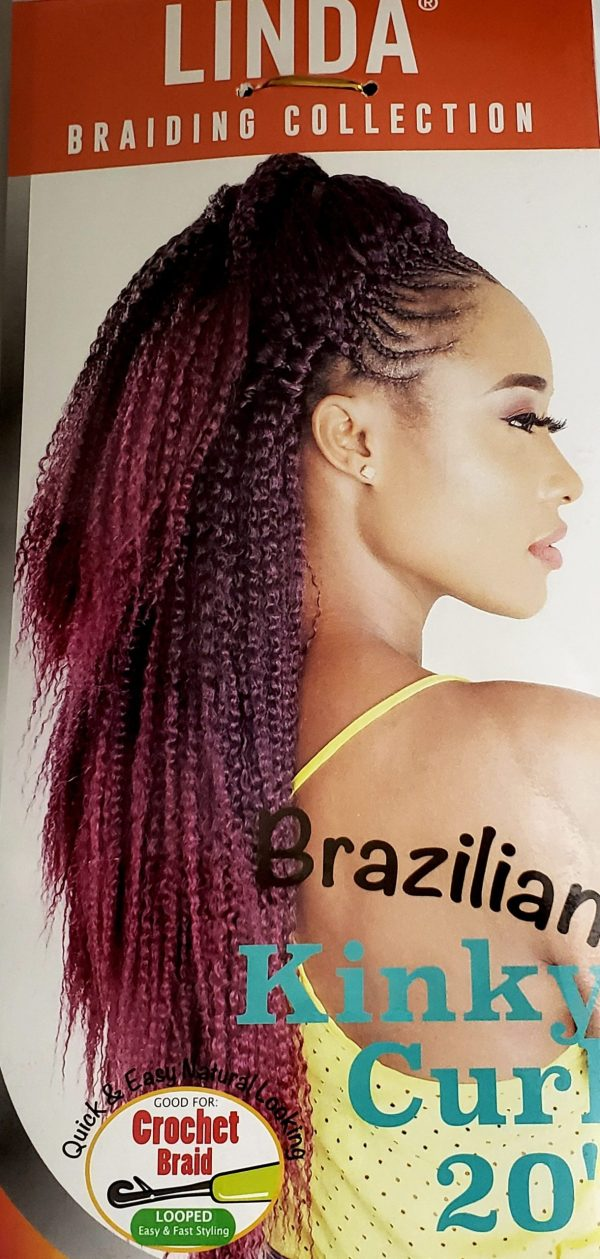 Brazilian Kinky Curl Linda Collection (Ombre Colors)
