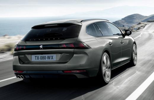 Ny Peugeot 508 SW satser på frækt design