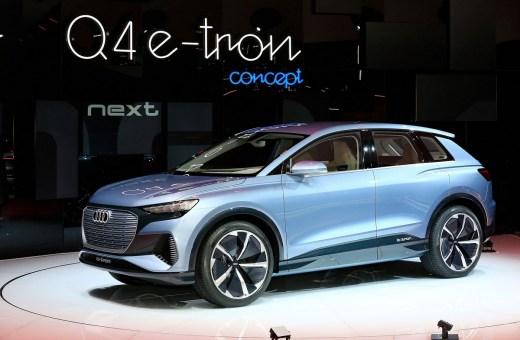 Mere elbil fra Audi: Q4 e-tron concept