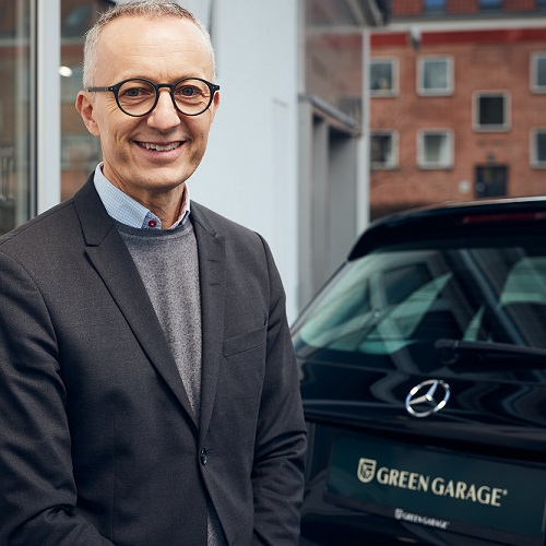 Thomas Ølshøj - stifter Green Garage