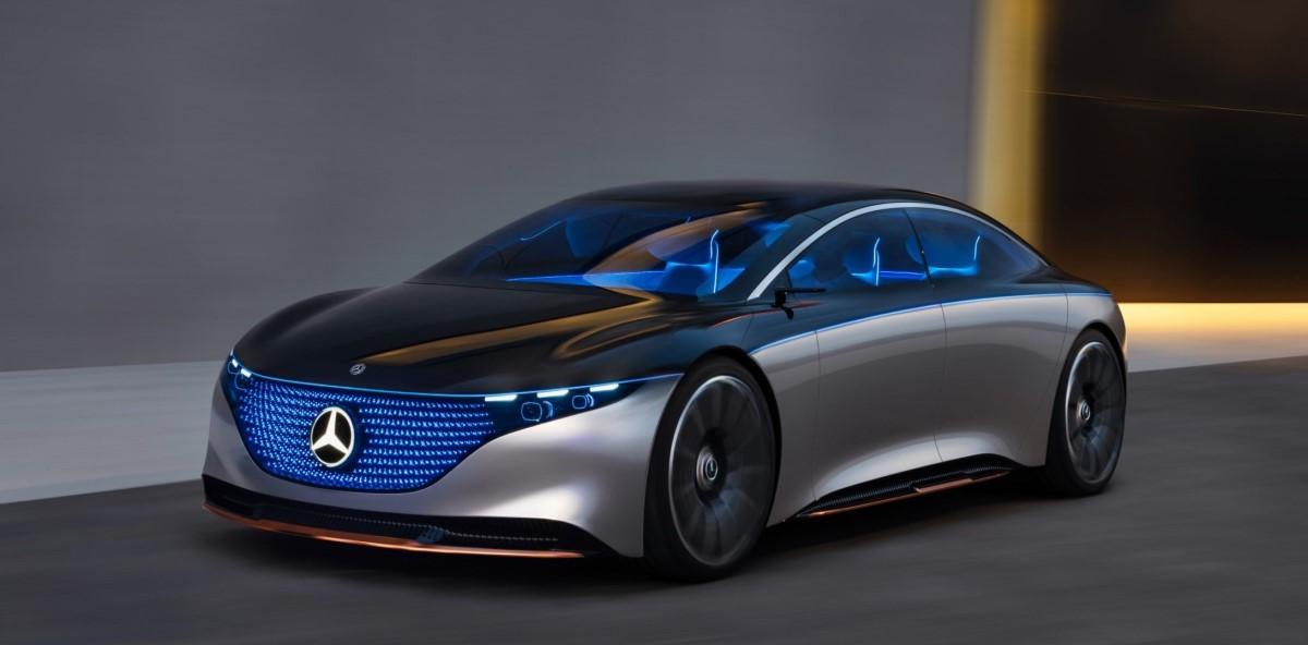 Vision EQS: Fremtidens luksusflyder fra Mercedes-Benz