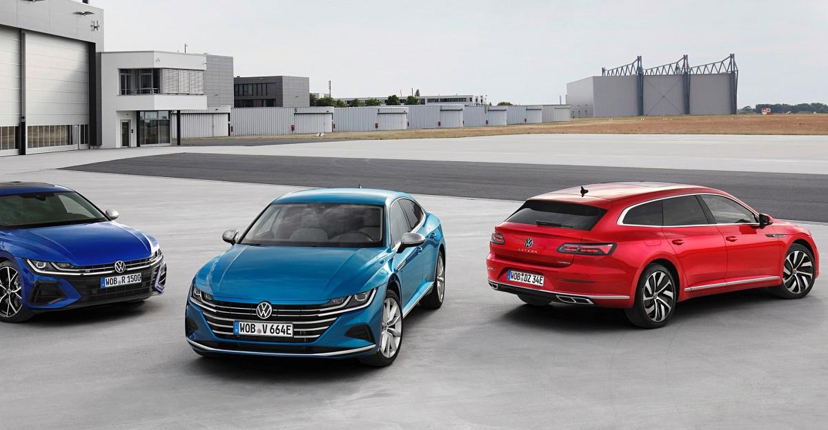 Nyhed: VW Arteon upgrade og Shooting Brake