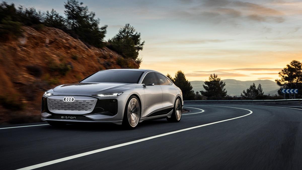 Nyhed: Audi A6 e-tron concept