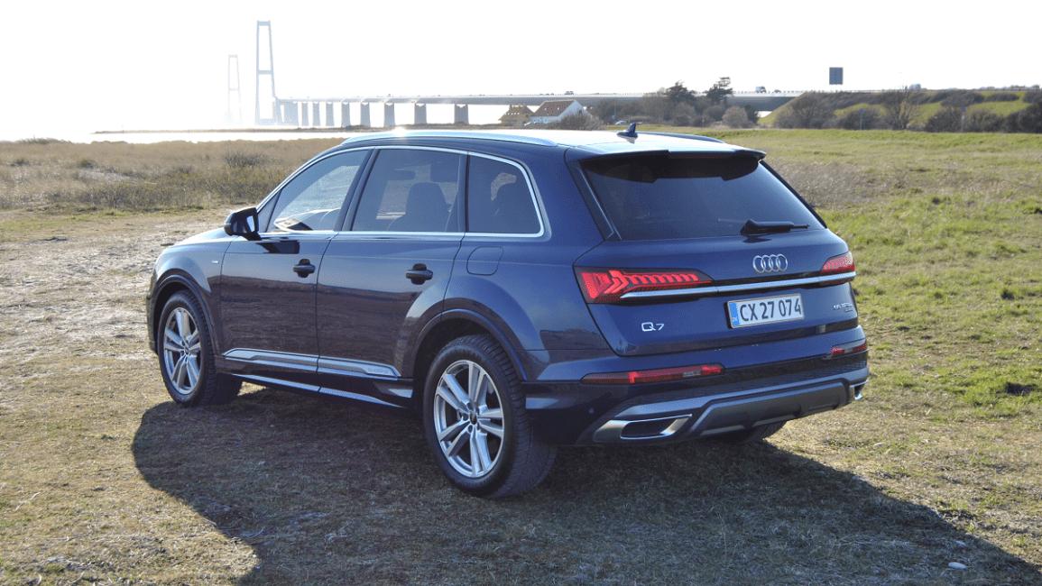 Test: Audi Q7 S line 55 TFSI e quattro tiptronic