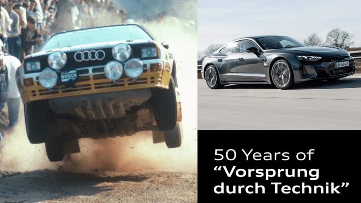 """50 år med """"Vorsprung durch Technik"""""""