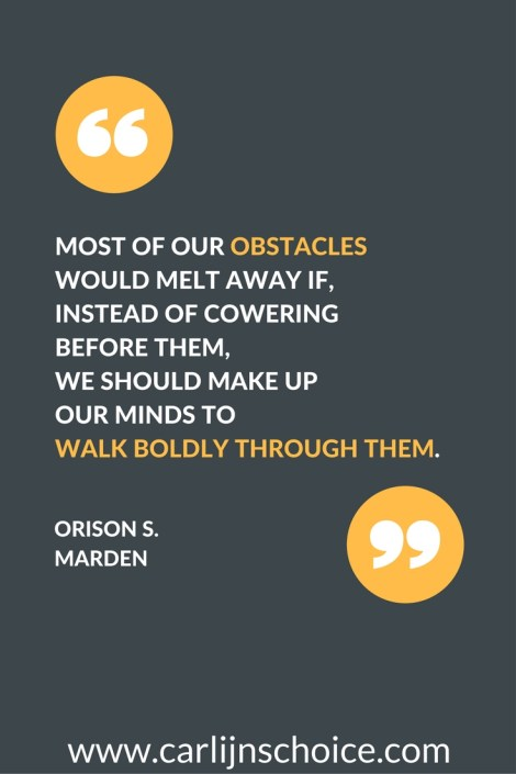 quote obstacles keep me motivated | www.carlijnschoice.com #carlijnschoice
