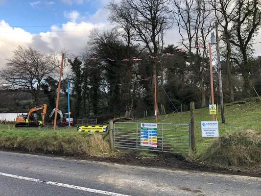 Site Investigation Begun in March 2020
