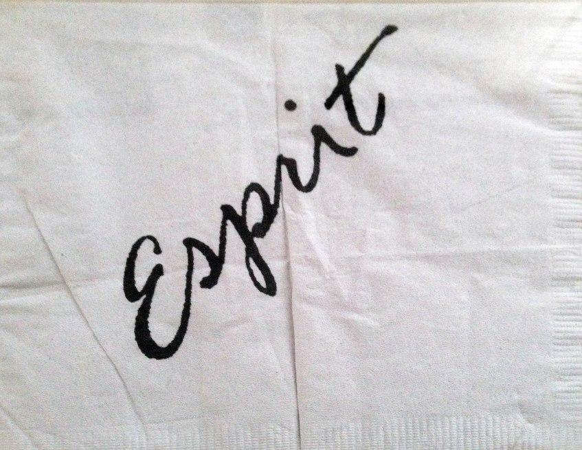 Esprit Lounge napkin front