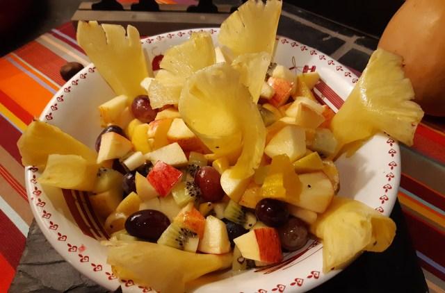 Hôtel Carlit - Font-Romeu - Plateau repas - Fruits