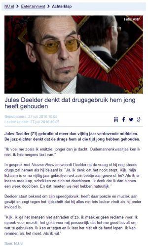 Brood Deelder En Drugs Carlito Ergo Sum Hét