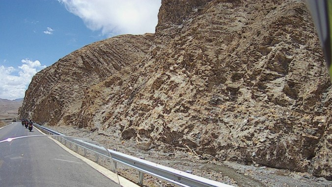 Interesting geology. Looks like sandstone brechsia?