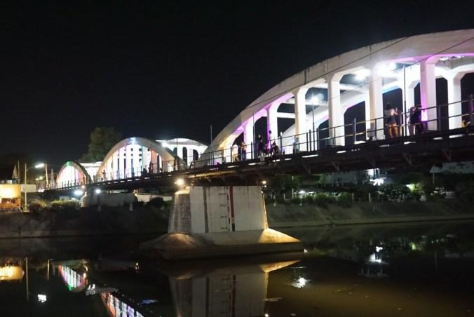 Bridge over river Wang.