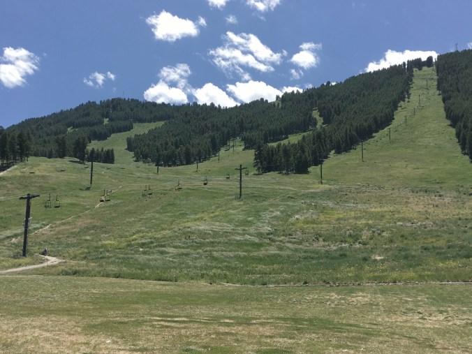 Great ski slope close to center of Jackson Hole.