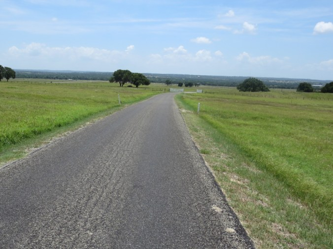 View to the south from the LBJ ranch.